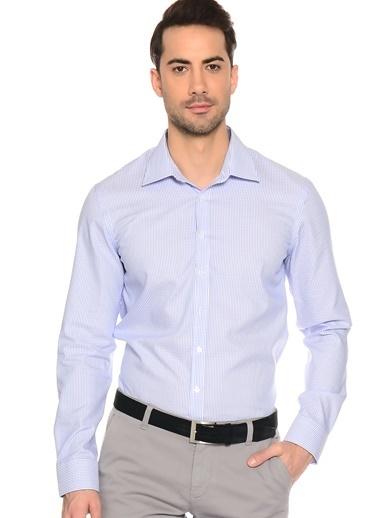 Slim Fit Uzun Kollu Gömlek-Fabrika